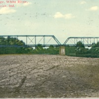 Newford Bridge over the White River near Seymour, Indiana - from Garvin Jennings