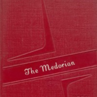 Medora High School Yearbook 1957-1958