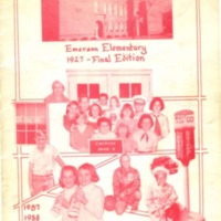 Emerson Elementary Yearbook 1987-1988