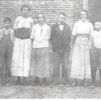 Students in Carr Township, School and Year Unknown - from Paul Carr