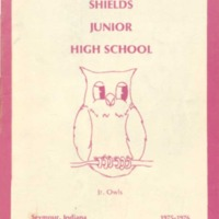 Seymour Shields Junior High School Yearbook 1976