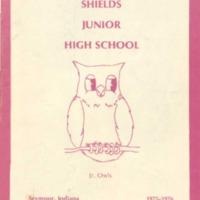 Shields Junior High School 1975-1976
