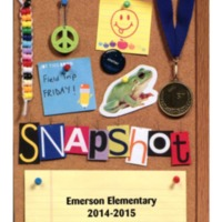 Emerson Elementary Yearbook 2014-2015