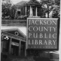 Jackson County Public Library Dedication 2005