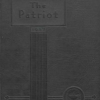 Shields High School Yearbook 1937