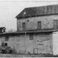 Flouring Mill in 1897 in Crothersville, some buildings are used by Crescent Mills.