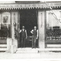 Cash Shoe Store - from Jackson County Historical Society