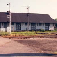 Freight Depot, Seymour, IN - from Ida and Kenny Wehmiller, C 5.05x3.49