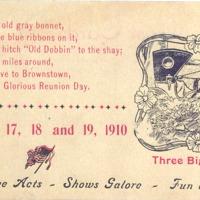 Brownstown Postcard 1910