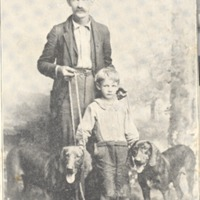 W.A. Carter and his Bloodhounds - from Polly Schneck,  bw 2.57x3.83