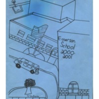 Emerson Elementary Yearbook 2000-2001