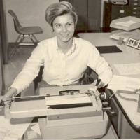Secretary Seymour Police Dept. 1-20-69 - from the Seymour Tribune, bw 5.46x4.98