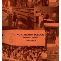 Margaret R. Brown Elementary School 1981-82