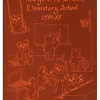 Margaret R. Brown Elementary School Yearbook 1984-1985