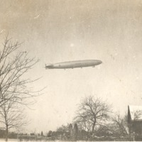 Navy ? blimp, ca 1920's.