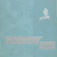 Medora High School yearbook 1961