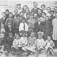 Mt Sidney School, Student Picture, 1915