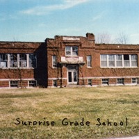 Surprise Grade School, Surprise, IN. - from Winfred (Bud) Cornett, bw 4.86x3.33
