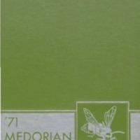 Medora High School Yearbook 1970-1971