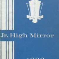 Seymour Shields Junior High School Yearbook 1963