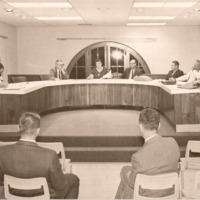 Seymour City Council Meeting - from the Seymour Tribune, bw 7.45x4.98