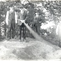 At Pinnacle Point in the early 1900s - from the Jackson County Historical Society