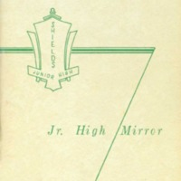 Seymour Shields Junior High School Yearbook 1964