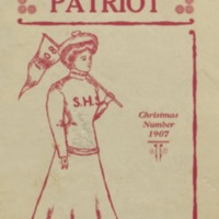 The High School Patriot. Christmas Number 1907