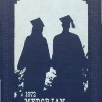 Medora High School Yearbook 1971-1972