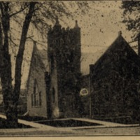 Christian Church at Brownstown - from Jackson County Historical Society