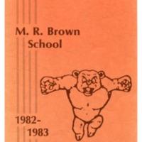 Margaret R. Brown Elementary School Yearbook 1982-83