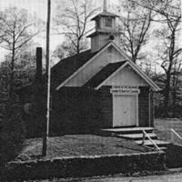 Gorbett's Chapel Church. - from Winfred (Bud) Cornett, bw 4.01x5.77