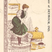 Card from Seymour 1905 - from Ida and Kenny Wehmiller