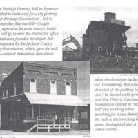 Hodapp Hominy Mill- Seymour, In ,top : Joe Robbins , bottom: Alex White / Seymour Tribune