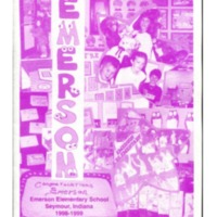 Emerson Elementary Yearbook 1998-1999