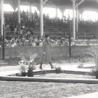 8-16-71 Fashion Show at the Jackson County Fair - from the Seymour Tribune,  bw 9.59x5.88
