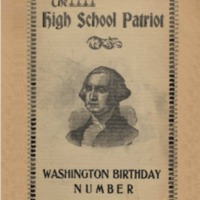 The High School Patriot - Washington Birthday Number, February 22, 1899