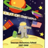 Emerson Elementary Yearbook 2007-2008