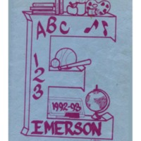 Emerson Elementary Yearbook 1992-1993