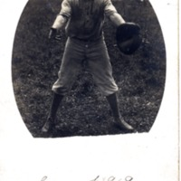 Baseball season 1909 Claude Brocker - Jackson County Historical Society