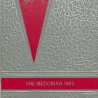 Medora High School Yearbook 1962
