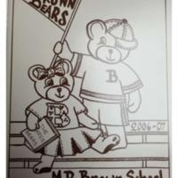 Margaret R. Brown Elementary School Yearbook 2006-07