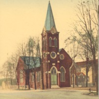 German Methodist Church in Seymour - from Garvin Jennings