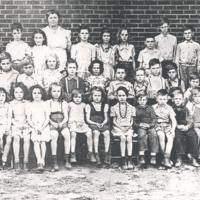 Sparksville, 3rd School, Rm I, 1946. - from Paul Carr, bw 6x4