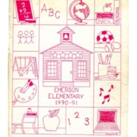 Emerson Elementary Yearbook 1990-1991