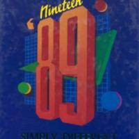 Medora High School Yearbook 1988-1989