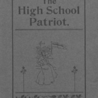 Shields High School Yearbook 1901