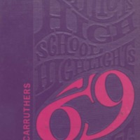 Crothersville High School Yearbook 1969