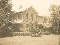 Kasting house on Freeman Field in 1942, still standing, Ernest and Elizabeth Miller Kasting home.