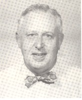 Arthur S. Kaufman as the first president of the Jackson County Schneck Memorial Hospital Foundation - from Tom Melton - Arvin Folks Magazine, July-August, 1957